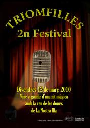 Cartel 2n Festival Triomfilles