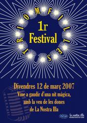 Cartel 1r Festival Triomfilles