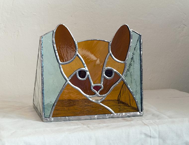 Portavelas Gato