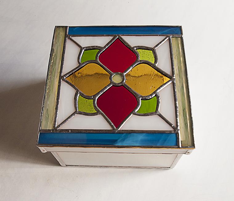 Caja de cristal