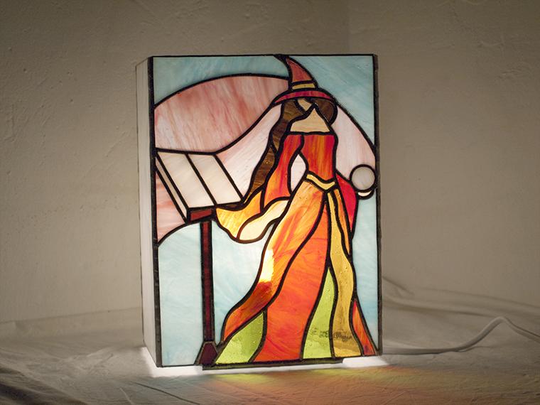 Lámpara bruja